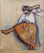 Edgar Degas - The Russian Dancer