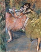 Edgar Degas - Two Dancers by a Hearth