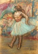 Edgar Degas - Dancer With a Fan