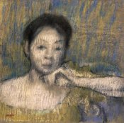 Edgar Degas - Bust of a Woman With Her Left Hand On Her Chin