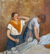 Edgar Degas - The Laundry Workers Ironing