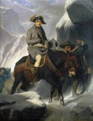 Paul Delaroche - Napoleon Crossing The Alps