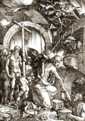 Albrecht Durer - The Harrowing of Hell From The Large Passion