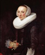 Nicolaes Eliasz - Portrait of a Lady