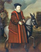 English School - William Cecil, 1st Baron Burghley