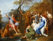 Francesco Fernandi - A Mythological Fishing Party