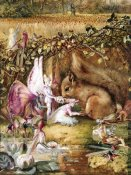 John Anster Fitzgerald - The Wounded Squirrel