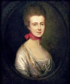 Thomas Gainsborough - Portrait of Miss Boone