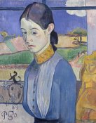 Paul Gauguin - A Young Breton Woman