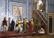 Jean Leon Gerome - The Blue Mosque.