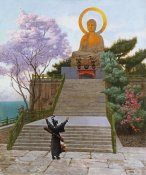 Jean Leon Gerome - Japanese Imploring a Divinity