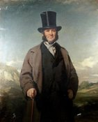 Sir John Watson Gordon - A Portrait of Robert Baird of Auchmedden