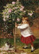James Hayllar - The Rose Tree