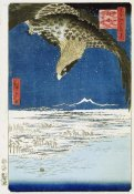 Hiroshige - One Hundred Thousand - Tsubo Plain at Susaki, Fukagawa