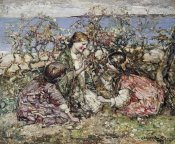 Edward Atkinson Hornel - The Butterfly