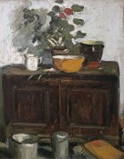 George Leslie Hunter - The Kitchen Dresser, Larkhall