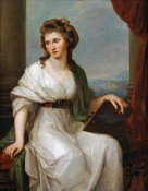 Angelica Kauffmann - Portrait of The Artist
