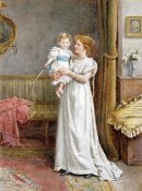 George Goodwin Kilburne - The Master of The House