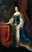 Sir Godfrey Kneller - Portrait of Queen Mary II