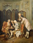 Ignacio Leon y Escosura - The Backgammon Players