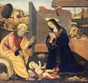 Filippino Lippi - The Nativity