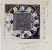Charles Rennie Mackintosh - Design For Clock Face, 1917