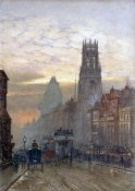Herbert Menzies Marshall - Fleet Street By Temple Bar