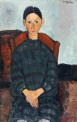 Amedeo Modigliani - Young Girl With a Black Apron
