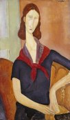 Amedeo Modigliani - Jeanne Hebuterne (with a Scarf)