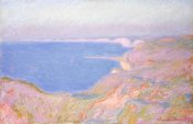 Claude Monet - On the Cliffs Near Dieppe, Sunset