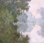 Claude Monet - Morning on the Seine, Near Giverny