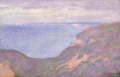 Claude Monet - The Cliffs Near Dieppe