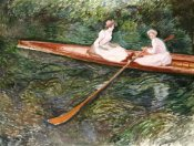 Claude Monet - The Pink Rowing Boat