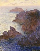 Claude Monet - Rocky Point at Port-Goulphar, 1886