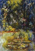 Claude Monet - Corner of a Pond with Waterlilies