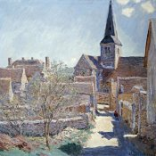 Claude Monet - Bennecourt