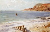 Claude Monet - Seascape at Sainte-Adresse