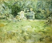 Berthe Morisot - The Gardening Lesson