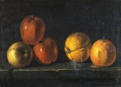 Jacques Charles Oudry - Still-Life With Oranges