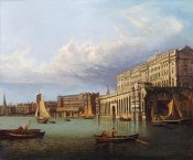 John Paul - Somerset House and The Adelphi From The River Thames