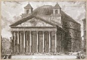 Giovanni Battista Piranesi - A View of The Pantheon, Rome