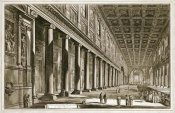 Giovanni Battista Piranesi - Interior of The Basilica of S. Maria Maggiore, Rome