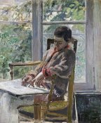 Camille Pissarro - Seated Figure (Lucien)