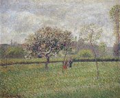 Camille Pissarro - Apple Tree Blossom at Eragny
