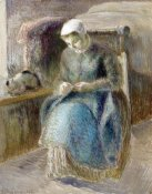 Camille Pissarro - Woman Sewing