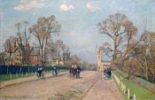 Camille Pissarro - The Road To Sydenham