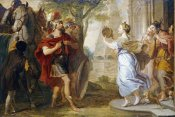 Erasmus Quellinus - Jephthah Greeted By His Daughter