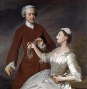 Allan Ramsay - Portrait of Sir Edward and Lady Turner
