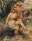 Pierre-Auguste Renoir - Venuis and Love (Allegory)