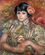 Pierre-Auguste Renoir - Girl With a Rose